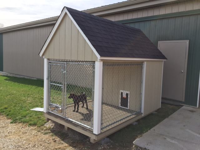 Amish Built Garages, Dog Kennels & Small Barns In