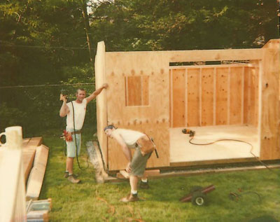 Garden Shed Options & Accessories build on site