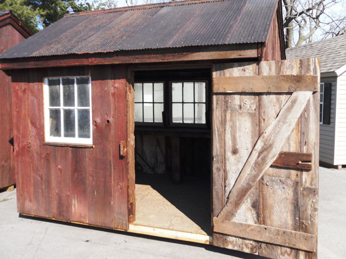 Small Sheds And Barns : Small wooden garden storage sheds the shed build