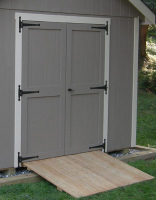Garden Shed Options & Accessories ramps