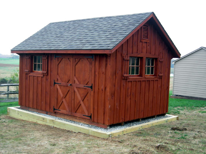 Rustic Storage Sheds
