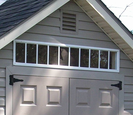 Garden Shed Options & Accessories transom windows