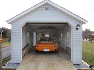 two built car site custom garage amish on sales prices product garages aurora