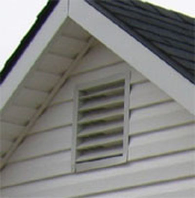 Garden Shed Options & Accessories louvered vents