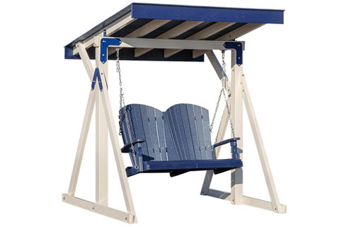 Outtoor Covered Free Standing Swing
