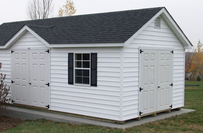 Garden Shed Options & Accessories reverse gables