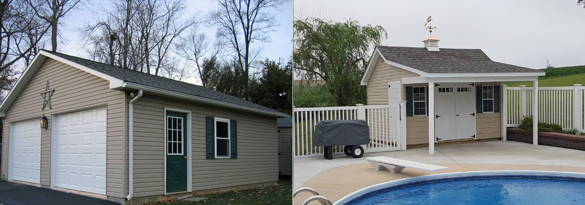 Garages, Sheds, Gazebos, Playsets & Small Barns Lancaster, PA